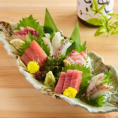 料理メニュー写真『熟成魚食べ比べ』