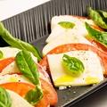 料理メニュー写真有機トマトのカプレーゼ