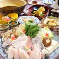 料理メニュー写真【夜】ふぐ鍋 てっさ 特選コース(4名様より)※冬季限定