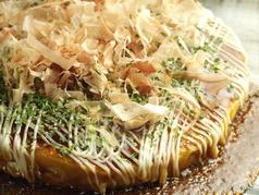 料理メニュー写真まっか焼き(豚、油かす)