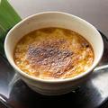 料理メニュー写真和三盆と豆乳のクレームブリュレ