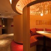 円型の個室は御予約をお薦め。1番人気