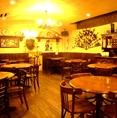 地下に広がる広々空間!テーブル席は全46席。ワイワイ愉しむのもいいよね!名古屋の大人気老舗スペインバル!!自慢の美味しいお料理とワインがウリの楽しいお店です★