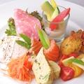 料理メニュー写真イタリア前菜盛り合わせ