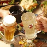 飲み放題付きコース多数★会社宴会や同窓会におすすめ!