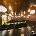 【貸切】落ち着く空間で貸切宴会はいかがですか?30名様から貸切可能です。最大40名様まで。会社の宴会やOB会、同窓会、打ち上げなどにご利用ください。宴会の料理内容もご相談に応じますのでお気軽にお問い合わせください。本町/居酒屋/貸切/飲み放題/和食/地鶏/個室/宴会/駅近
