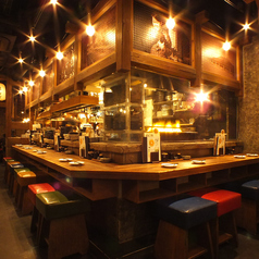 お一人でも気軽に♪こだわりの鹿児島素材の料理とこだわりの薩摩焼酎・九州素材のお酒をお楽しみ頂けます☆