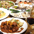 料理メニュー写真贅沢6000円2.5時間飲み放題付きコース(ドリンク50種類、ワイン6種)