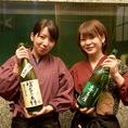 『地酒は地域最大級』福岡の郷土料理、高級素材をリーズナブルに堪能がコンセプトの浪漫座。地酒は、なんと、福岡の全酒蔵より仕入れがあり、福岡の全部の銘酒を堪能できます。吟醸、酒精、純米。産地色々飲み比べて、お楽しみください。