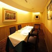 店内には10名様まで入る完全個室も完備。