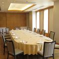 【Oleander/オリアンダー】着席時最大40名、立食時最大50名まで可能。会議などにもご利用可能。お席のレイアウトもご相談ください。
