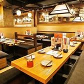 4名様用のテーブル席◎気の合う仲間と宮崎郷土料理をご堪能頂けます♪
