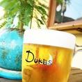 「DUKES」特製ジョッキでカンパイ!!