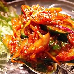 きゅうりの韓国サラダ