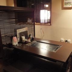 窓側の真ん中のお座敷テーブル席★