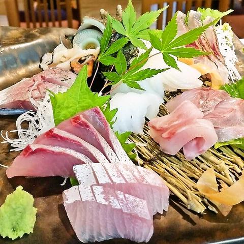 各種宴会にオススメ!!2H飲み放題&お刺身付き 3500円コース(8品)