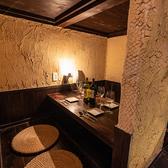 【4名様:個室】上品で大人な落ち着いた空間は、お祝い事など外せない日のお食事にも最適◎