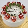★☆ お祝いホールケーキ ☆★