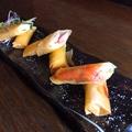 料理メニュー写真色々具材のチーズ揚げ春巻き