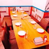 8名様テーブル!いつもの仲間と宴会、肉女子会、慰労会、激励会などご利用におすすめです!