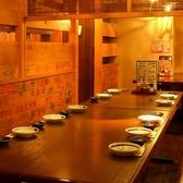 大宴会なら最大34名様までご利用いただけます♪飲み放題つき宴会コースは3500円(税込)~ご用意☆飲み放題付ですので大人数の宴会にも便利です。食べ飲み放題には志なのすけ お初天神店自慢のスズキお造りがついています♪ぜひご賞味ください!【お初天神 居酒屋 食べ放題 飲み放題 個室 海鮮 宴会 地酒 刺身 日本酒 】