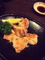 料理メニュー写真長州鶏の塩焼き