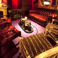 クラシックとモダンの融合をテーマにしたオシャレなインテリアと居心地の良い空間はビジネスの席でのご利用にも人気です。