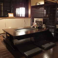 窓側の奥のお座敷テーブル席★
