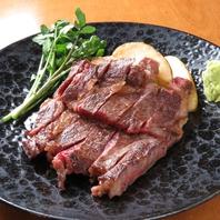 すぺいん倶楽部の名物!漢方和牛のサーロインステーキ