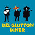DEL GLUTTON DINER デルグルトンダイナーのロゴ