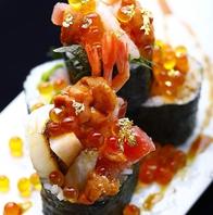 《欲望の巻き鮨》芸術的な料理をご堪能下さい☆