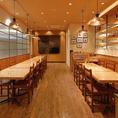 【大崎駅徒歩5分】宴会最大85名様にて承っております。大崎での各種宴会にぜひご利用ください!店内の石窯で焼き上げたピザや自慢の料理でイタリアンパーティーはいかがでしょうか?2時間飲み放題付きコース全7品4000円~ご用意しております。貸切向け設備やサービスも充実!