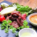 料理メニュー写真牛タンの炙り焼