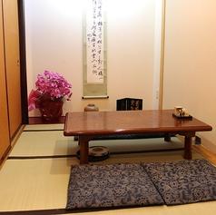 襖とパーテーションで半個室として利用可能