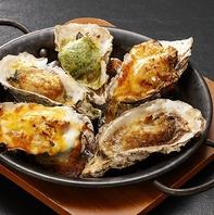 【大人気の牡蠣料理】プリプリ焼き牡蠣は溝の口店自慢