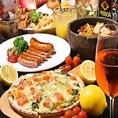 コースもお料理もリーズナブルで美味しい!ご予約受付中!