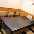 お座敷の上のテーブル席です。6名用