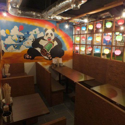 気軽に使えるBOX席は仕事帰りにサクッと飲むのにもってこいの空間!