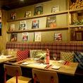 アメリカのカフェのような雰囲気で本格的な創作料理を楽しめます☆