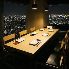〈【窓際】38階・絶景テーブル席 4~8名様〉