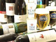 豊富なトルコのお酒