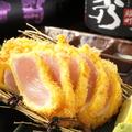 料理メニュー写真朝引き鶏のレアチキンカツ