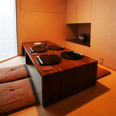ゆったり過ごせる個室もあります。こちらはハリマヤで限定一室の6名様まで用の個室です。
