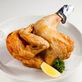 料理メニュー写真国産若鶏半身唐揚げ