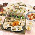 2時間飲み放題付きのコース料理を4500円でご用意しております。美味しい料理とお酒で最高のひとときを。また、+1000円でプレミアム飲み放題に変更も可能です。