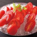 料理メニュー写真トマト2種盛り