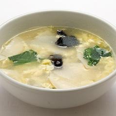 玉子スープ 中盆