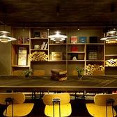 おひとり様でも気軽に使える「大テーブル」はオシャレなカフェの雰囲気とキッチンのライブ感が愉しめます!!