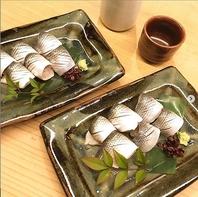 『季節の食材×日本酒』季節を楽しめます。