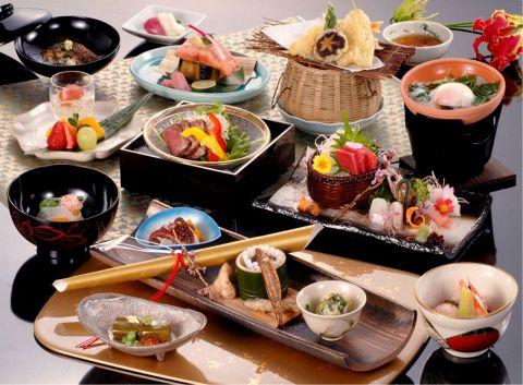 会席料理3240円コース